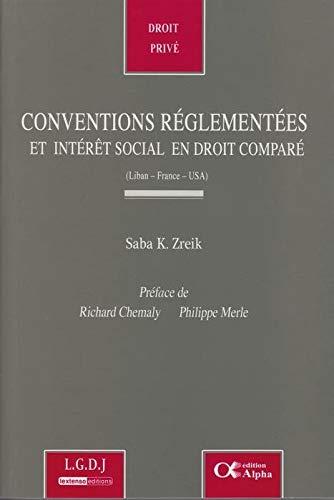 Conventions réglementées et intÃ&...