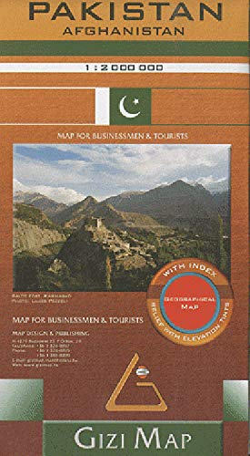 Pakistan Afghanistan : 1/2 000 000: Gizi Map