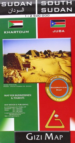Sudan & South Sudan Geographical: GiziMap (Firm)