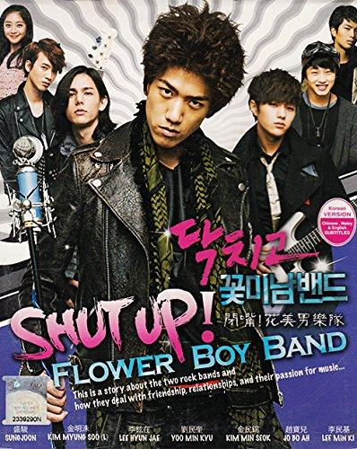 9786165156042: Shut Up Flower Band (Korean TV Drama, English Sub, All Region, 4-DVD Set)