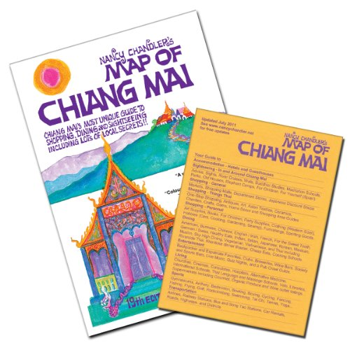 9786169046219: Nancy Chandler's Map of Chiang Mai