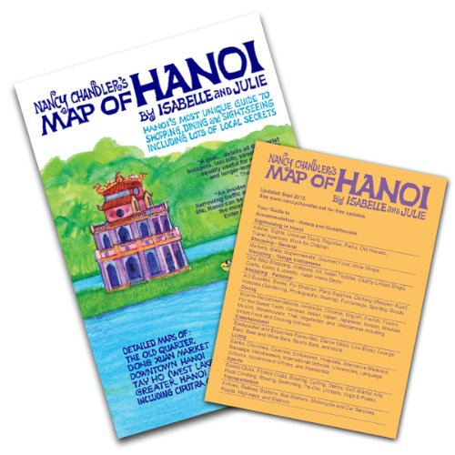 Nancy Chandler's Map of Hanoi by Julie: Julie and Isabelle