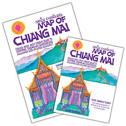 9786169046295: Nancy Chandler's Map of Chiang Mai, 21st Edition