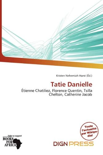 9786200339676: Tatie Danielle (French Edition)
