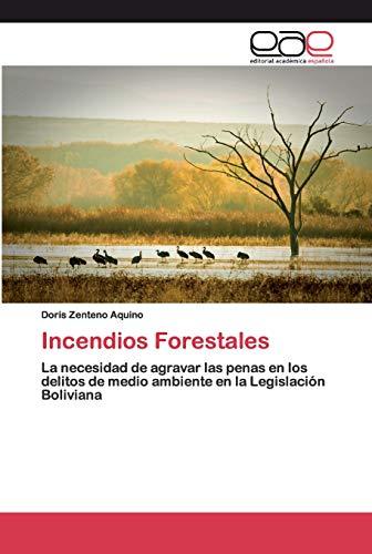 9786200400307: Incendios Forestales: La necesidad de agravar las penas en los delitos de medio ambiente en la Legislación Boliviana