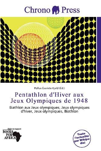 9786200600240: Pentathlon d'Hiver aux Jeux Olympiques de 1948 (French Edition)