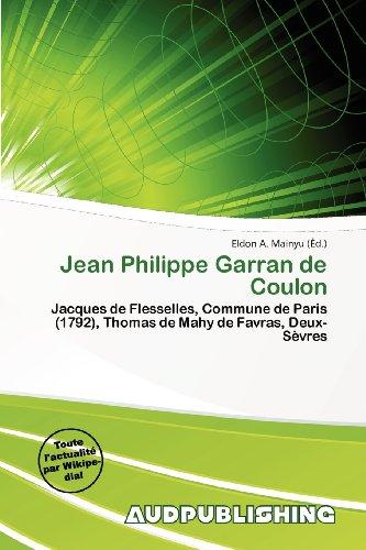 9786201235274: Jean Philippe Garran de Coulon
