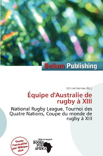 9786201249653: Quipe D'Australie de Rugby XIII