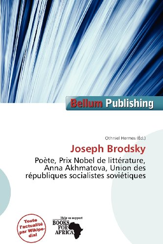 9786201427051: Joseph Brodsky (French Edition)