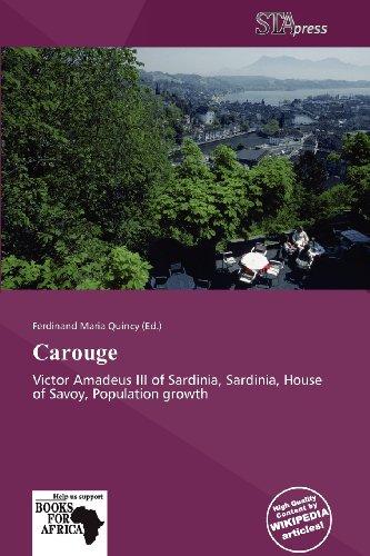 9786201547933: Carouge