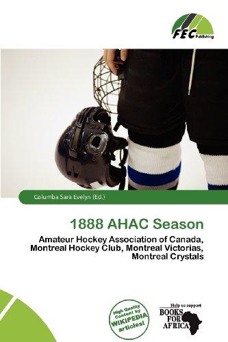 9786201751583: 1888 AHAC Season