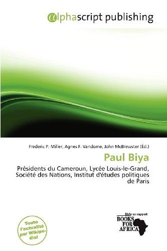 9786201919082: Paul Biya
