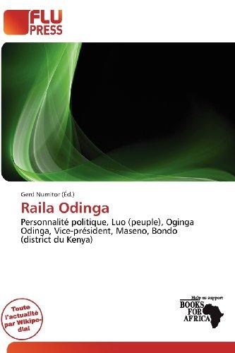 9786201942608: Raila Odinga