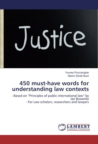 """450 must-have words for understanding law contexts: - Based on """"Principles of public ..."""