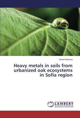 Heavy metals in soils from urbanized oak ecosystems in Sofia region: Vania Kachova