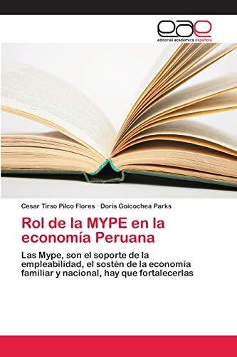 Rol de la MYPE en la economía: Pilco Flores, Cesar