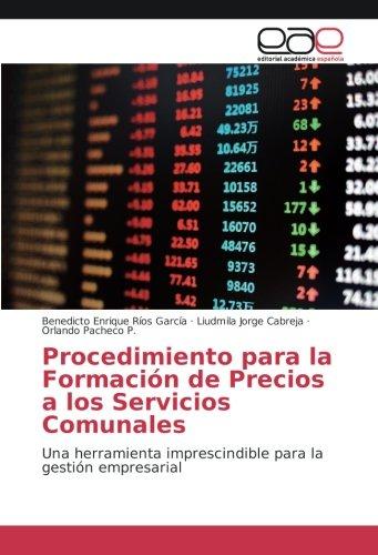 Procedimiento para la Formación de Precios a: Ríos García, Benedicto