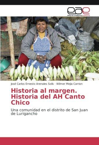 Historia al margen. Historia del AH Canto: José Carlos Ernesto