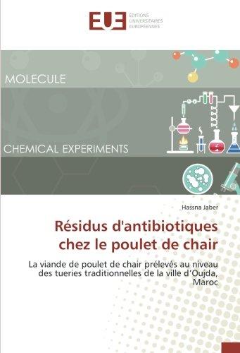 Résidus d'antibiotiques chez le poulet de chair: Jaber, Hassna
