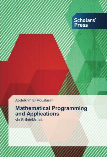 9786202307208: El Mouatasim, A: Mathematical Programming and Applications