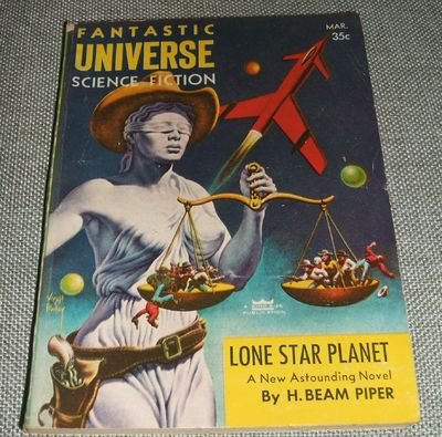 9786211457031: Lone Star Planet, in FANTASTIC UNIVERSE, March 1957 (Volume 7, No. 3)