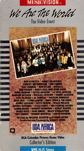 9786300138360: We Are the World: The Video Event ( USA for Africa - Collector's Edition) [VHS]