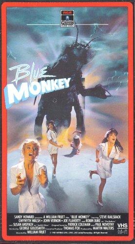 9786300141766: Blue Monkey [VHS]