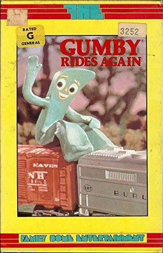 9786300153257: Gumby 5:Gumby Rides Again [VHS]