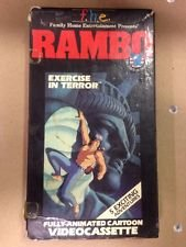 9786300154001: Rambo:Exercise in Terror [VHS]