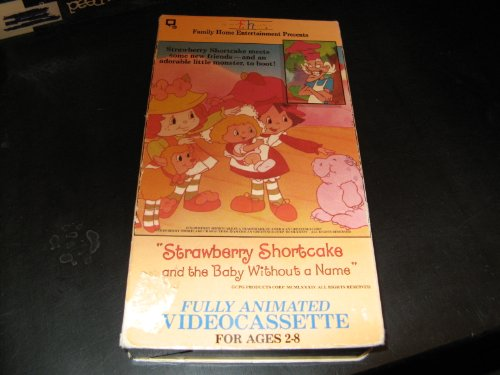 9786300154360: Strawberry Shortcake - The Baby Without A Name [VHS]