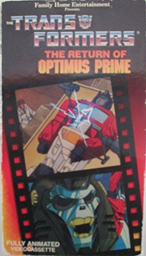 9786300154605: Transformers:Return of Optimus Prime [VHS]