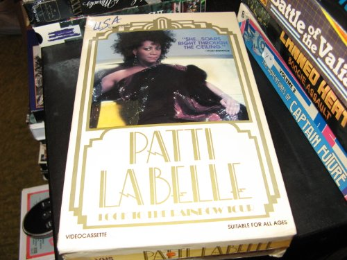 9786300164765: Patti Labelle: Look to the Rainbow Tour [VHS]