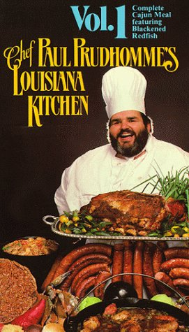 9786300167148: Chef Paul Prudhomme Vol. 1 [VHS]