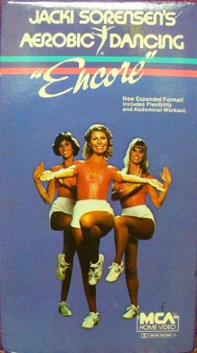 9786300182943: Jacki Sorensen's Aerobic Dancing Encore [VHS]