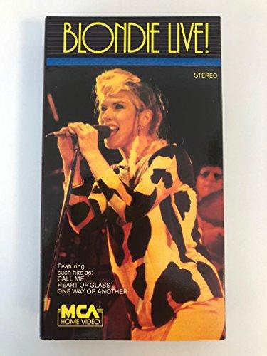 9786300183322: Blondie:Live [VHS]