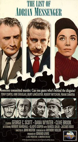 9786300184015: The List of Adrian Messenger [VHS]