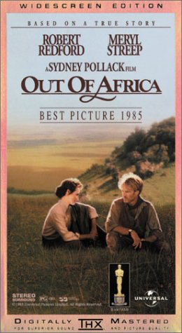 9786300185098: Out of Africa [VHS]