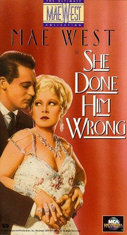 9786300186019: She Done Him Wrong [VHS]