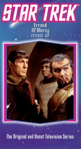 9786300213319: Star Trek - The Original Series, Episode 27: Errand Of Mercy [VHS]