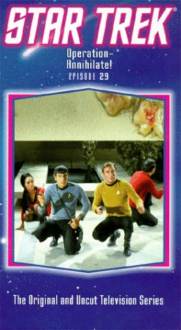 9786300213333: Star Trek - The Original Series, Episode 29: Operation-Annihilate! [VHS]