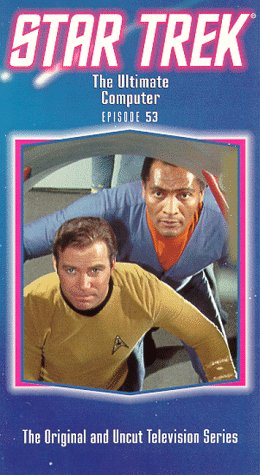 9786300213579: Star Trek - The Original Series, Episode 53: The Ultimate Computer [VHS]