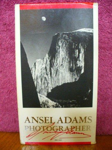 9786300219496: Ansel Adams:Photographer [VHS]