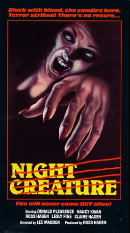 9786300252226: Night Creature [VHS]