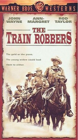 9786300268791: Train Robbers [VHS]