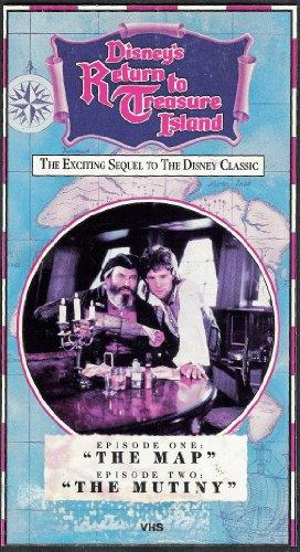 9786300276635: Return to Treasure Island Vol. 1 (The Map / The Mutiny) [VHS]