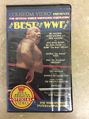 9786300278561: The Best of WWF, Vol. 12 [VHS]
