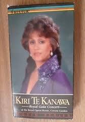 9786301140836: Kiri Te Kanawa: Royal Gala Concert [VHS]