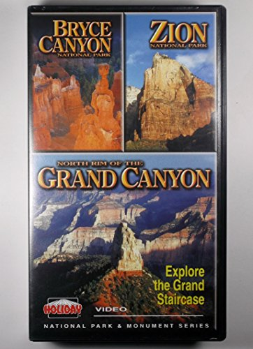 9786301148092: Bryce, Zion & The North Rim of the Grand Canyon (National Park and Monument Series) [VHS]
