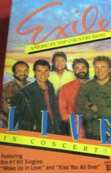 9786301227308: Exile Live in Concert [VHS]
