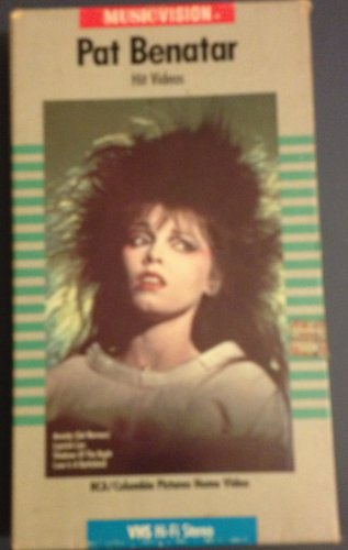 9786301285360: Pat Benatar: Hit Videos [VHS]